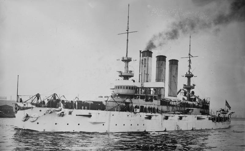 The USS Maine, circa 1896